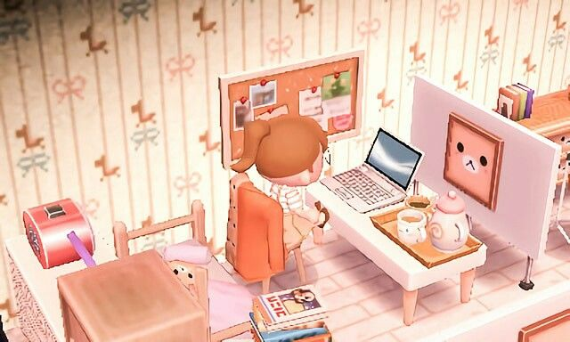 Tea Animal Crossing Animal Crossing Qr Room
