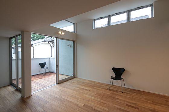 旗竿地に建つ、見通しの良いリビングのある家 オリジナルデザイン住宅 KH邸   建築概要   Boo-Hoo-Woo.com デザイン住宅施工例