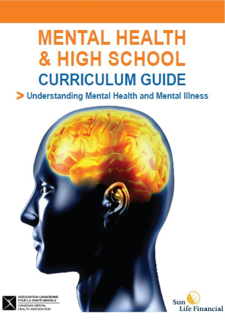 Psychological well being and highschool curriculum information