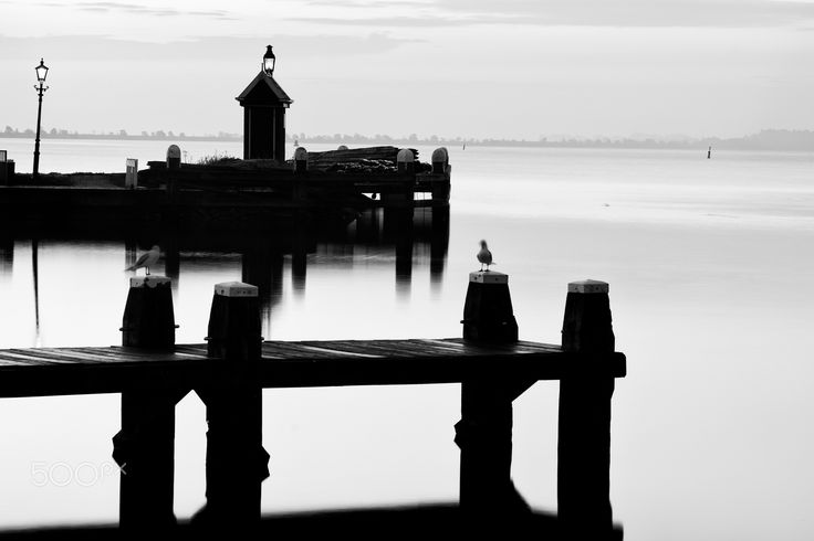 Silence and Serenity... - Volendam Marina Fuji xpro-2 Leica 90mm summicron