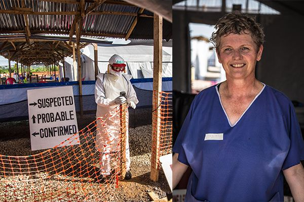 Australian nurse Anne Carey was one of the first aid workers to fly into the Ebola outbreak zone in Sierra Leone. She tells Mrs Jones how she found the grit to go in early and stay so long – and why, when your opponent is powerful, you should never feel powerless…