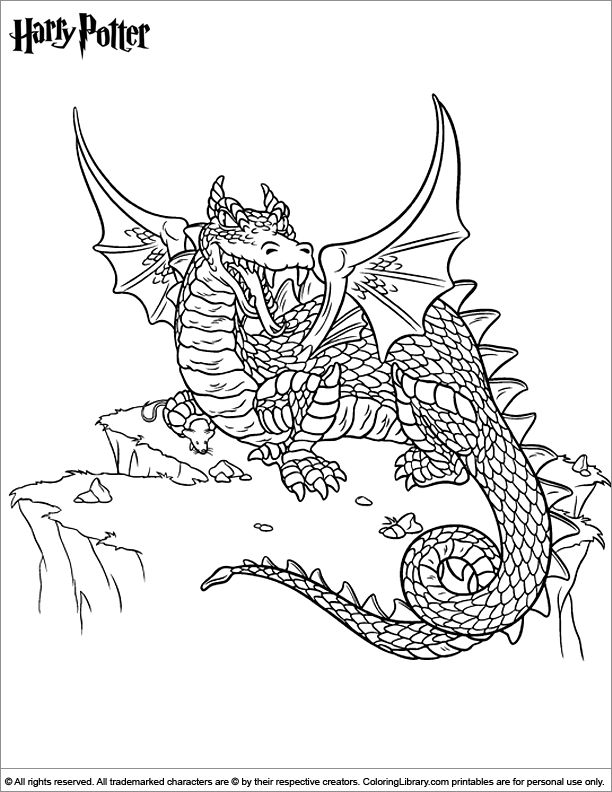 Harry potter coloring pages and sheets find your favorite cartoon coloring picures in the coloring library