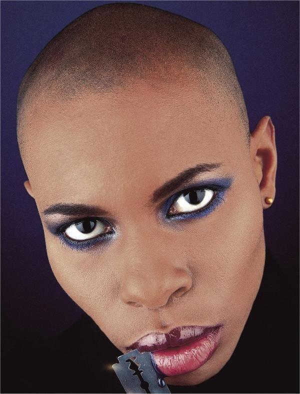 Skin, singer/musician/model