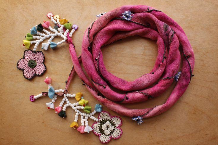Pink Scarf. OS04