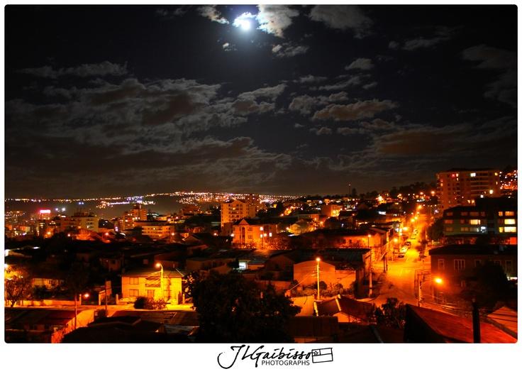 Vista Nocturna de Viña   Viña del Mar-CHI   2012