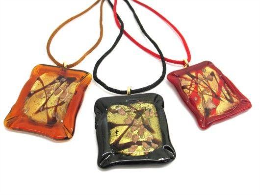 $33 Italian Murano Glass Pendant, info@bijuterie-online.ro