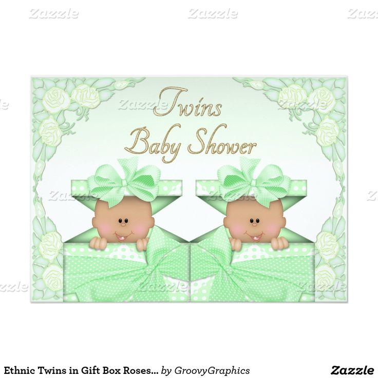 Gift Box Baby Shower Invitations : Invitations invitation cards gift boxes and twin