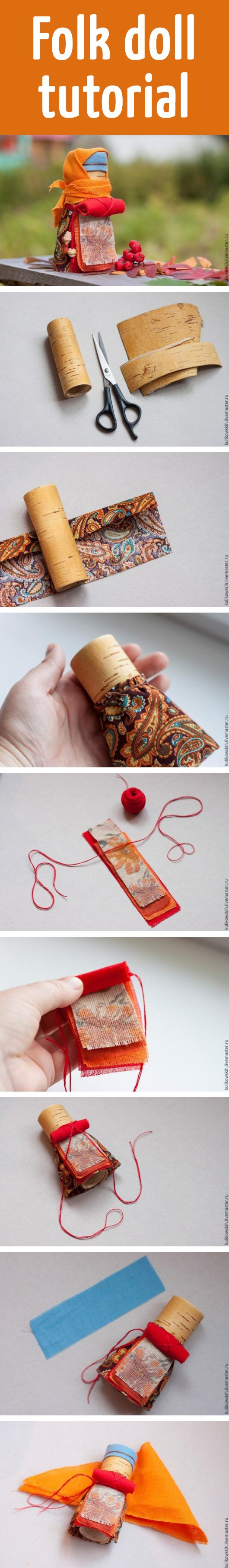 Folk doll tutorial