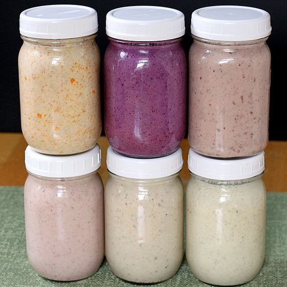 Drink your oatmeal. Make ahead smoothie recipes or create your own concoction of tasty good nutrition.