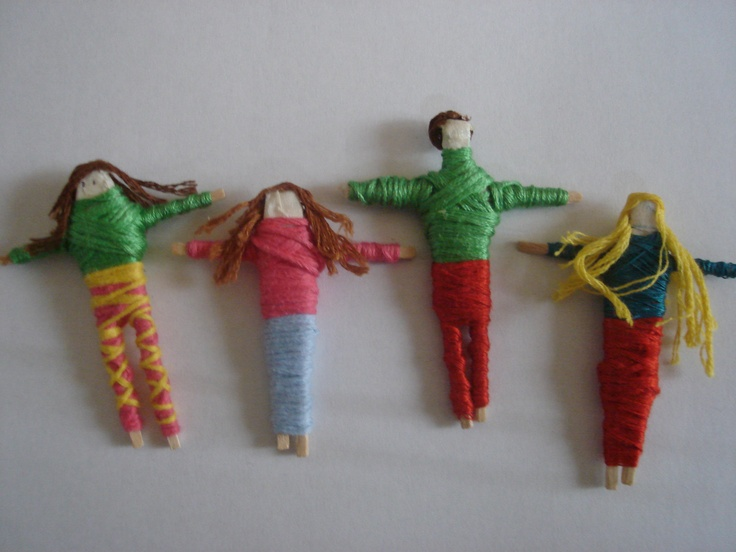 Worry Dolls instructions for older kids - discovered by www.OCchildTherapy.com