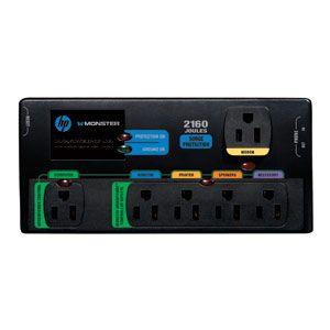 CENTRE D'ALIMENTATION NUMÉRIQUE POWERCENTRE 650G HPM-MDP650G DE HP MONSTER AVEC TECHNOLOGIE GREENPOWER