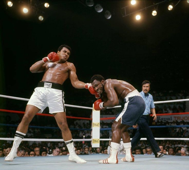 Thrilla in Manila, 1975, by Lawrence Schiller.