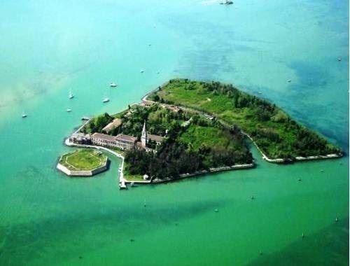 Isla a la venta en Venecia