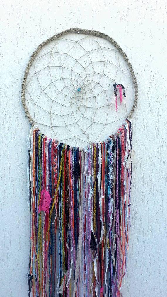 Giant dream catcher Boho dreamcatcher gypsy by handmadebyfofo