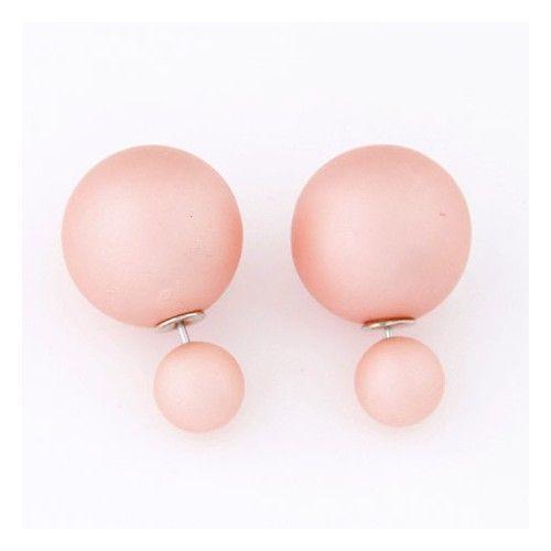 Double dots oorbellen - Dariyo