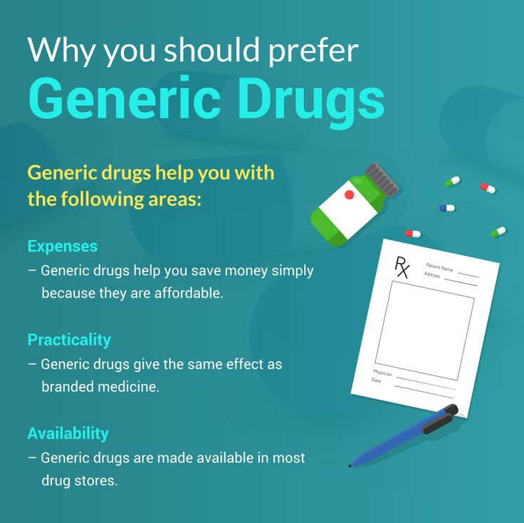 Generic drugs help you with the following areas: 1. Expenses – Generic drugs help you save money simply because they are affordable. 2. Practicality – Generic drugs give the same effect as branded medicine. 3. Availability – Generic drugs are made available in most drug stores.