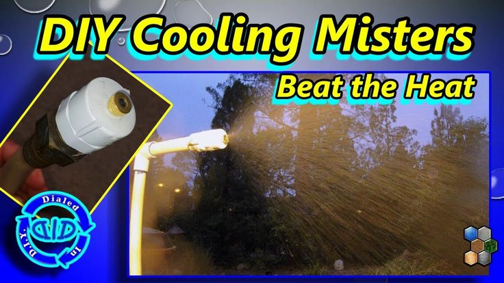 Make Cooling Misters - Beat the Heat - Fun & Refreshing