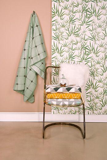 Fleece blanket Graphic L. 180cm, W. 150cm, Design Studio Stijll. #pt #ptproducts #presenttime #studiostijll