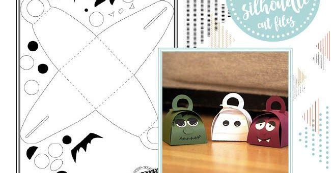 file da taglio gratuito di halloween - hallowwen free silhouette file