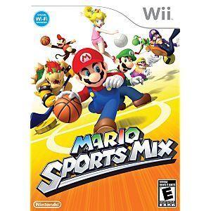 Mario Sports Mix - Wii Game
