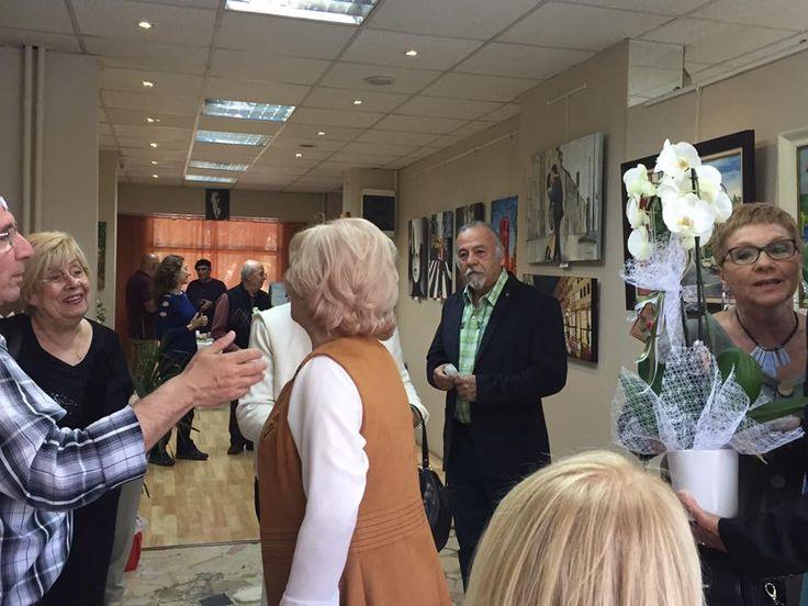 Caddebostan Resim Kulübü Karma Resim Sergisi Venüs Sanat Galerisi'nde açıldı....