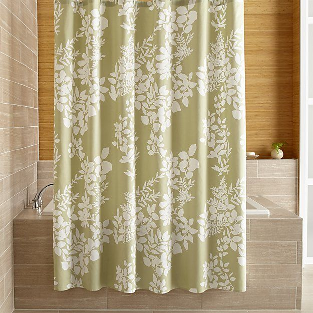 123 best images about bathroom essentials on pinterest Nature inspired shower curtains