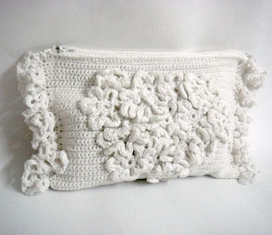 Crochet PATTERN Wedding Bridal Clutch by PATTERNSbyFAIMA on Etsy, $5.50
