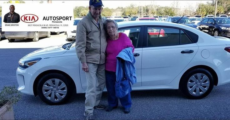 "Drake Bristow and KIA AutoSport of Pensacola would like to thank the Bennett family for the purchase of their BRAND NEW 2018 KIA Rio!  Our very first car sale for 2018!! We are so happy to continue to serve you year after year!! We thank you so much for your continued service and THANK YOU for your service to this great country sir!! We look forward to serving you for MANY MORE years to come!! ""WE WANNA SEE YA IN A KIA""  #KIAFAMILY"