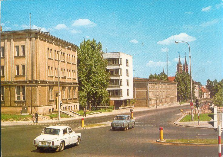 Białystok '70s ul. Dzierżyńskiego/Legionowa fot. J. Tymiński