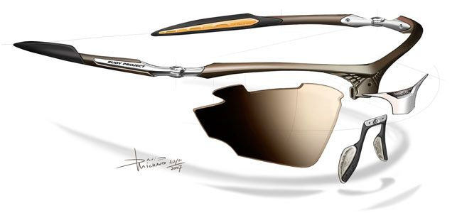 Rudy Project sport glasses are degned to meet the needs of the athletes.