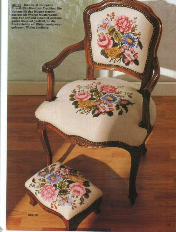 Gallery.ru / Фото #1 - Обострение хомякоза:)) - Lilek1965    (reminds me of Grandma Emma's lovely chair) .pat