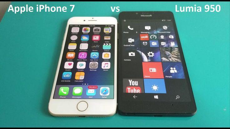 Apple iPhone 7 vs Microsoft Lumia 950 In Depth Comparison
