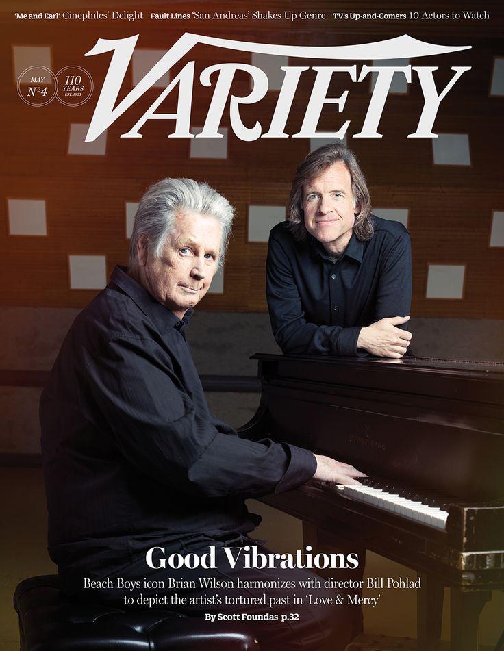 Variety cover: May 26, 2015: Brian Wilson and Bill Pohlad http://variety.com/2015/film/news/love-mercy-brian-wilson-bill-pohlad-beach-boys-1201505018/