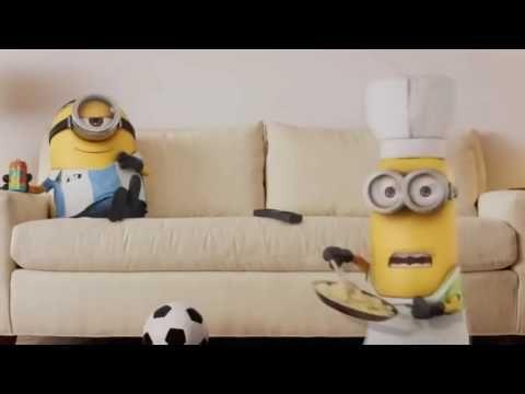 Funny Animation Movie - All Minion Mini Movies - Despicable Me 2