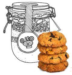 walnoot/cranberry koekjes   Koken met Karin