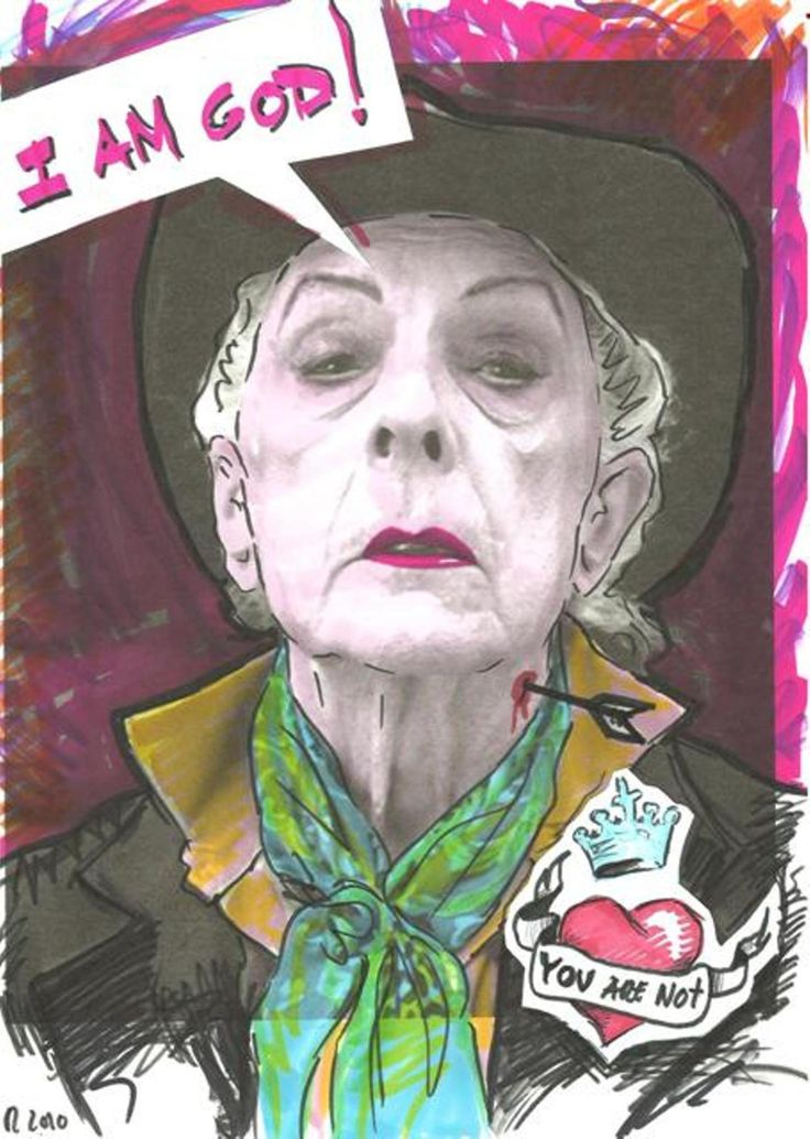 I A m God, You Are Not (Quentin Crisp)
