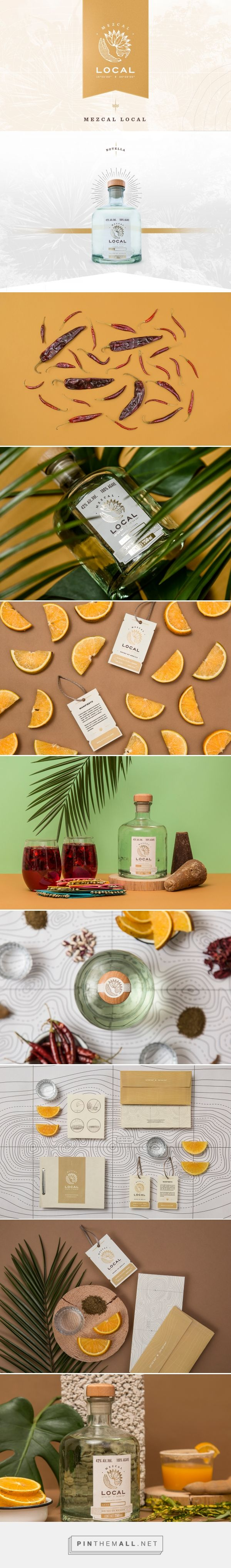 Mezcal Local Spirits Branding and Packaging by The Branding People | Fivestar Branding Agency – Design and Branding Agency & Curated Inspiration Gallery