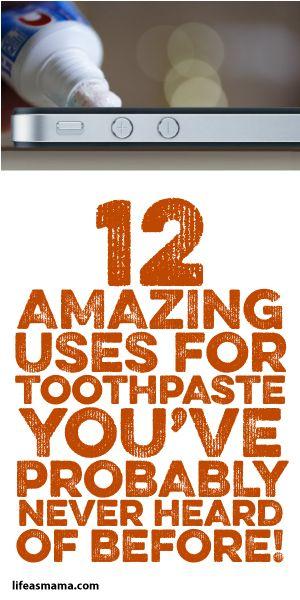 12 Amazing Uses For Toothpaste You've Probably Never Heard Of Before!