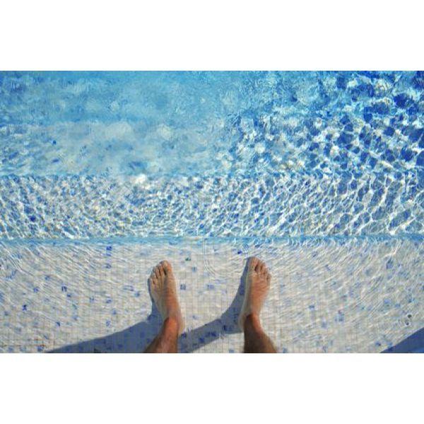 Une eau de piscine trouble