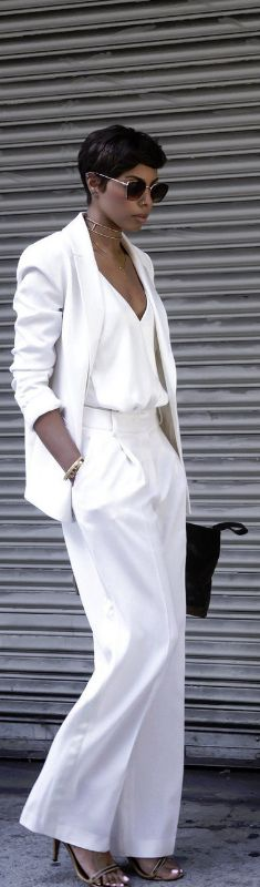 THE HIGH END POWER SUIT / Fashion By Tosha Eason