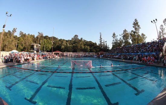 ROSE BOWL AQUATIC CENTER, PASADENA