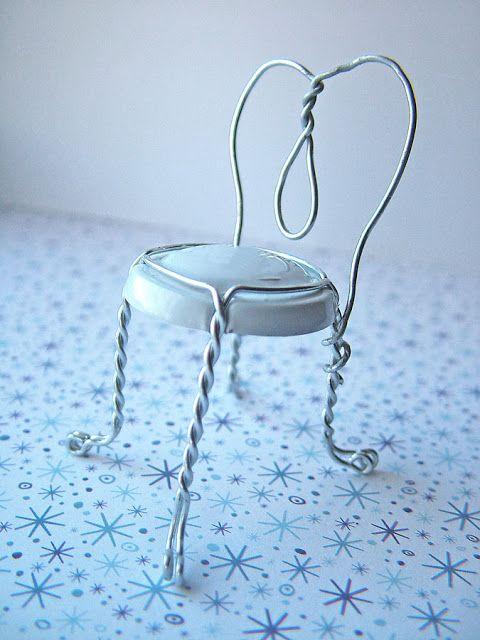 smallworldland: Champagne cork chair….Happy New...