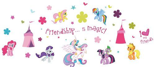 My Little Pony ST0634 ST0634 My Little Pony Wall Stickers, 39 reusable stickers Fun4Walls http://smile.amazon.com/dp/B00E2X4IXG/ref=cm_sw_r_pi_dp_QAQyub10GJ3QM