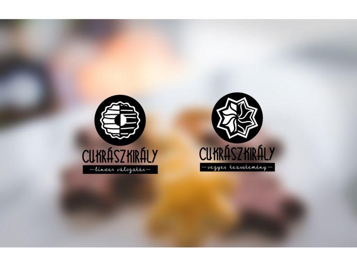 Cukrászkirály-sütemény logó