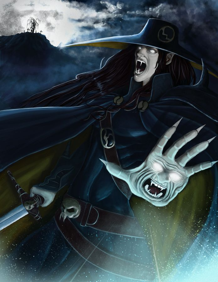 Vampire Hunter D by yoshdestroys.deviantart.com on @deviantART