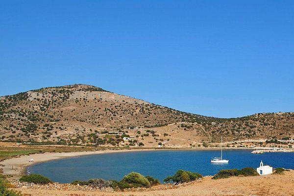 Kalantos beach, a place of tranquility