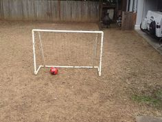 Como hacer un arco de fútbol con PVC