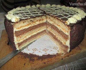 Banánovo-čokoládová torta