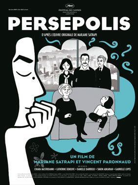 (French) Semi-autobiographical film based off of the Graphic novel of the same name by Marjane Satrapi.