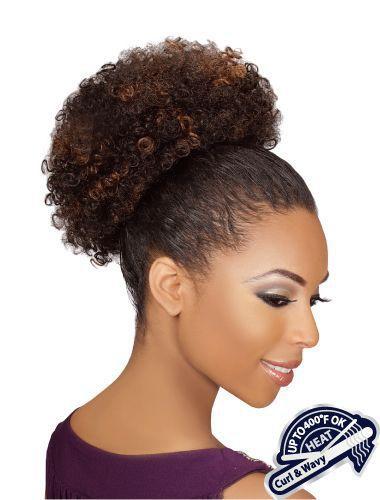 Eve Heat Resistant Afro Ponytail - Wigz4lessonline.com